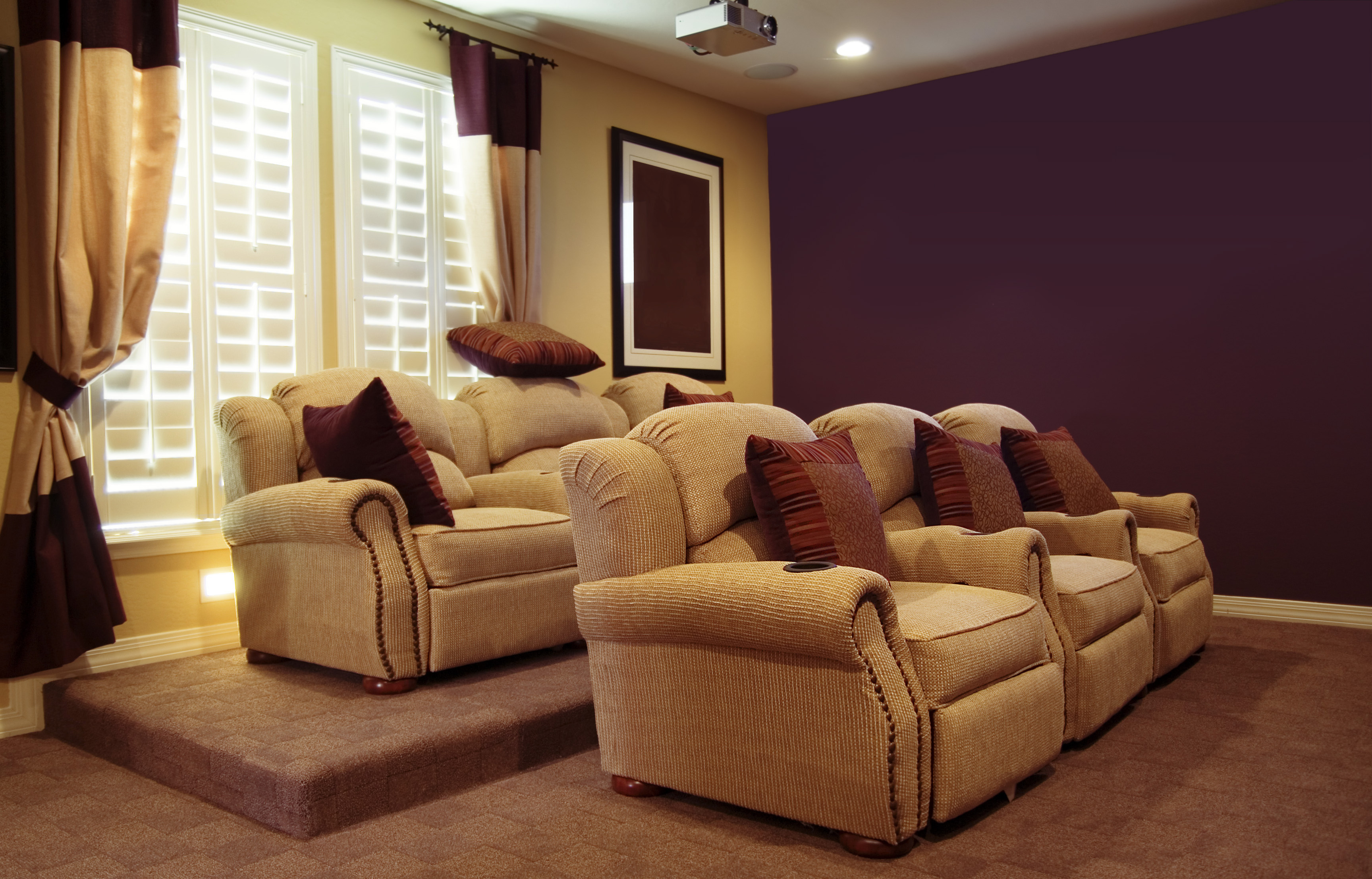 Luxury Home Theatre Entertainment Room
