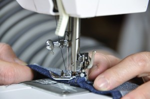 Seamstress-sewing-custom-curtains